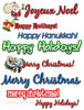 Thumbnail Holiday Clipart Collection - MRR