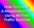 Thumbnail Create Responsive List Using All Free Traffic with PLR