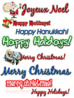 Product picture Holiday Clipart Collection - MRR
