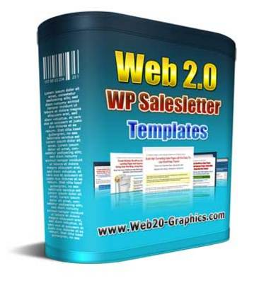 Product picture WordPress Salesletter Templates with MRR