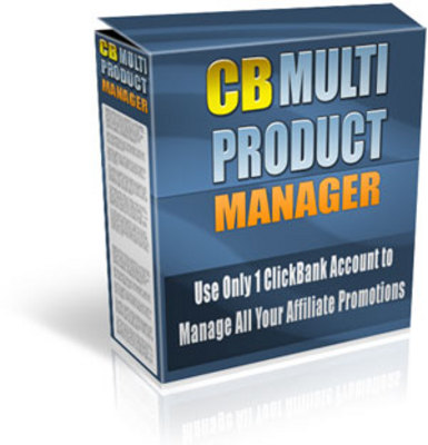 Product picture clickbank multiproduct manager with MRR