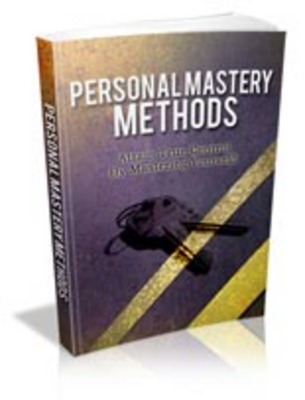 Product picture Personal Mastery Methods with MRR