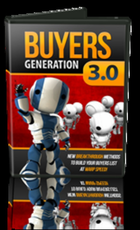 Product picture Buyers Generation 3 with MRR