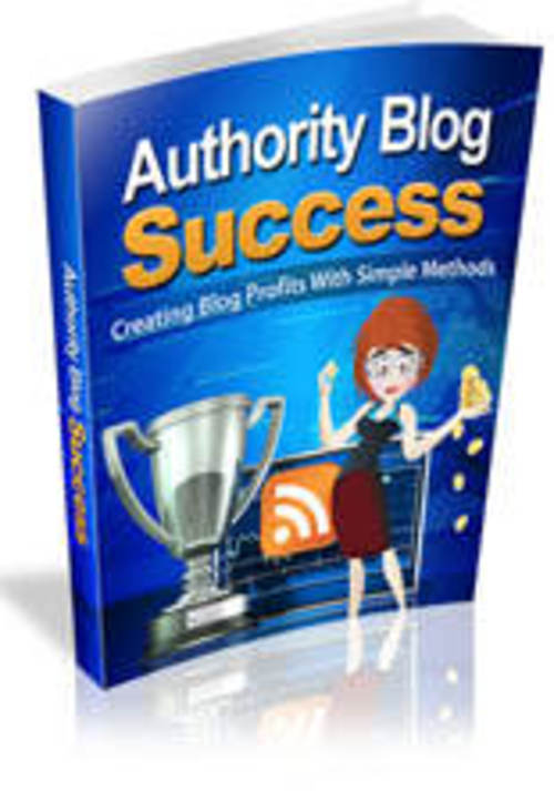 Product picture Authority Blog Success with MRR