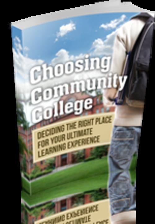 Product picture Choosing Community College with MRR