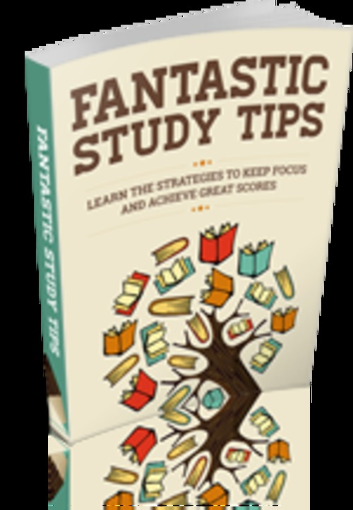 Product picture Fantastic study tips with MRR