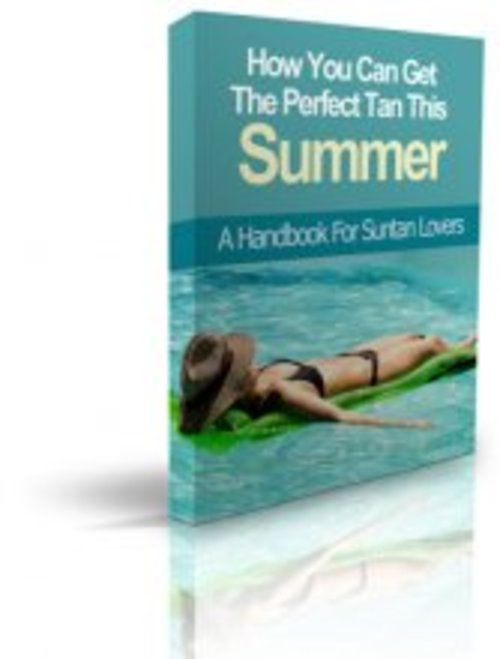 Product picture How you  can get the perfect tan this summer with MRR
